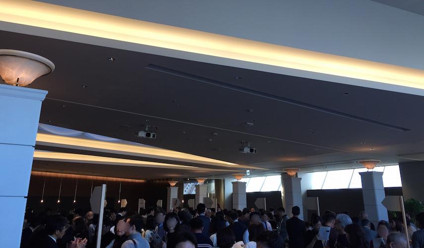 山梨ワイナリーズフェア2017の会場の様子