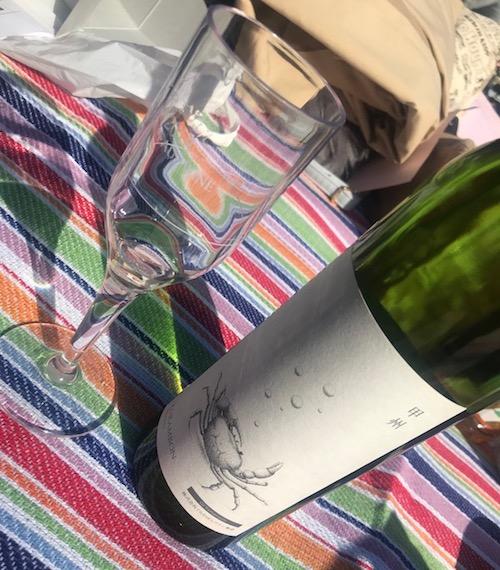 くらむぼんワインの甲州