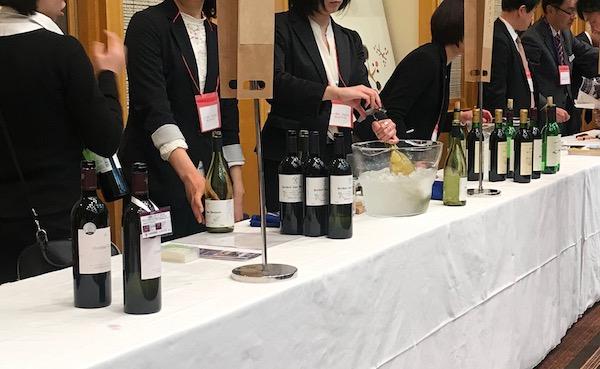 長野ワインフェス2019のワイナリーブース