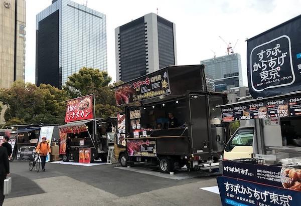 第5回日本ワインMATSURI祭のキッチンカー
